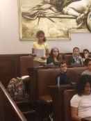 Gli interventi dei ragazzi alla simulazione del Consiglio Comunale