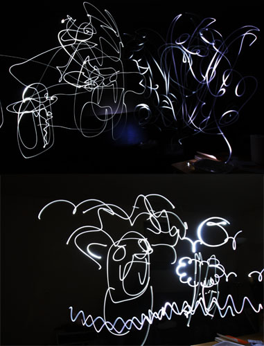 Painting With Light and Long Exposures lpscrilbbles