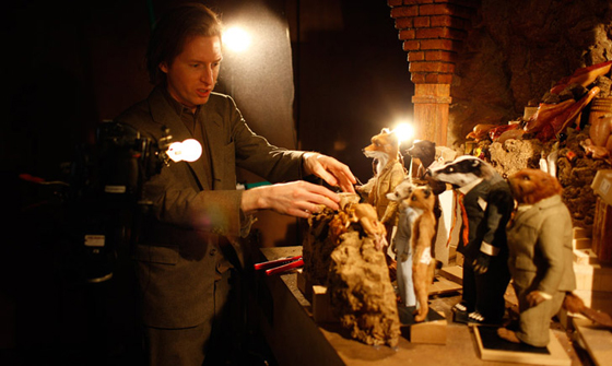 Stop Motion Digital Photography on the Silver Screen  wesanderson fox
