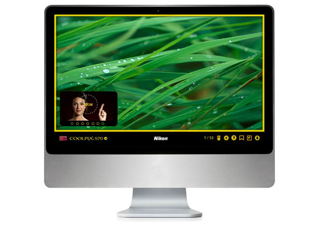 Nikon Coolpix Site Features Nifty Online Tool: Virtual Touch Experience CoolpixExperience