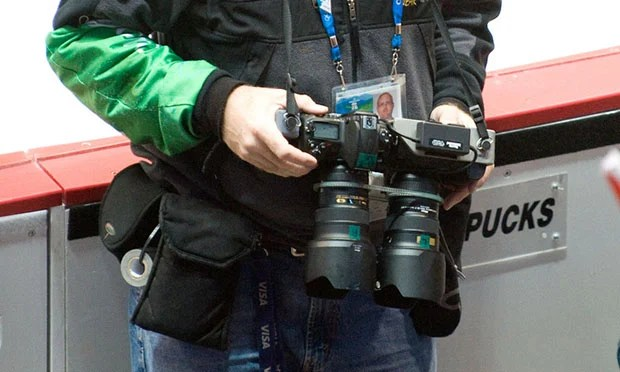 3D DSLR Setup Spotted at the Olympics 3dolympicscrop