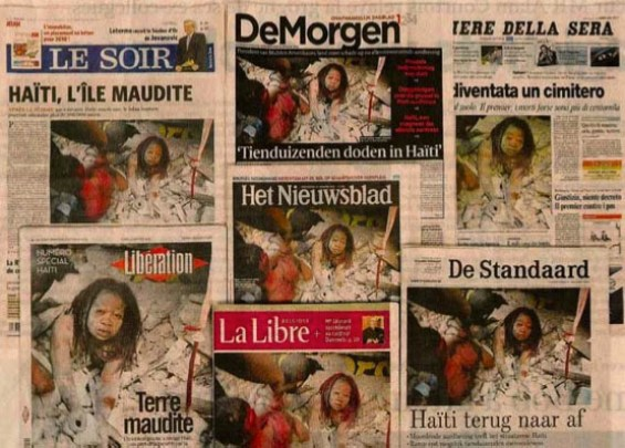 News Wire Allegedly Steals Iconic Haiti Photo, Then Sues Photographer papers