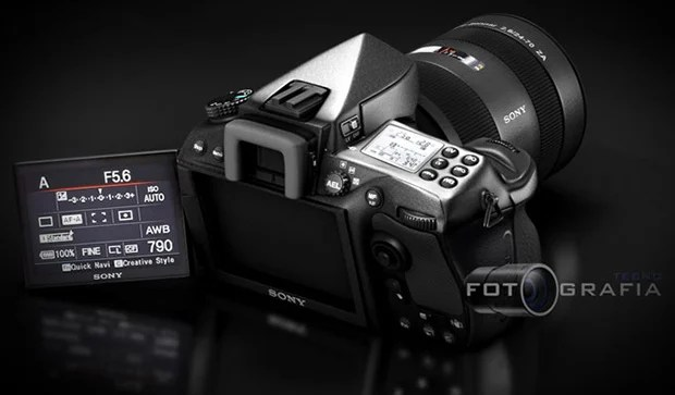 Concept Sony Alpha DSLR Offers a Slanted LCD and Futuristic Design alphaconcept1
