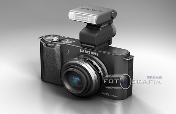 Samsung EVIL Concept with Stackable Hot Shoe Accessories samevil1
