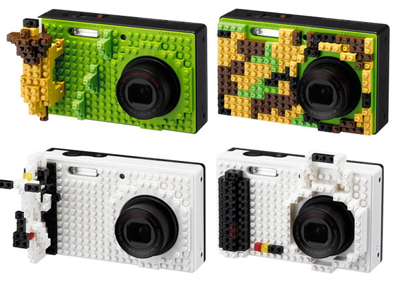 Pentax Embraces Customizability with LEGO Style Blocks and Skins lego