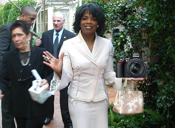 Oprah Picks the Nikon D3100 as One of Her Favorite Things oprahd3100