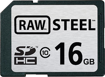 Hoodman Adds Body Armor to SD Cards rawsteel
