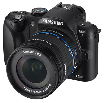 New Samsung NX11 Combines i Function Technology with the NX10 samsungnx11