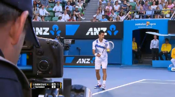 Canon 7D at the Australian Open 7daustralian
