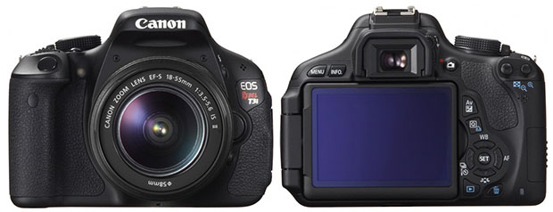 Canon Announces Rebel T3 and Rebel T3i DSLR Cameras canont3i