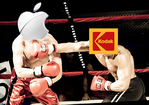 Kodak Hopes to Win $1 Billion from Apple Over Camera Patent Dispute kodakapple