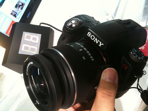 Sony May Steal DSLR Market Share from Canon and Nikon During Shortage 4937530644 42ccd5369b