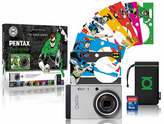 Pentax Teams Up with DC for Superhero Faceplates for the RS1500 pentaxdc