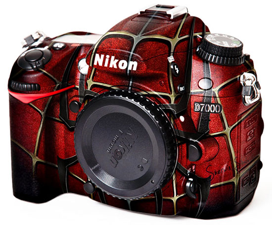 Nikon D7000 with Custom Paint Jobs painted1