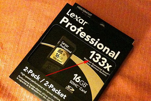 What the x Means When it Comes to Memory Card Speed lexar