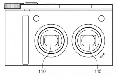 Samsung Might Give Compact Cameras Shallower DoF with Second Lens dualdof
