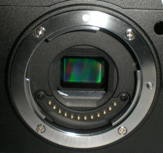 Leaked Photo Alleged to Show Nikon Mirrorless Mount and Sensor nikonsensor
