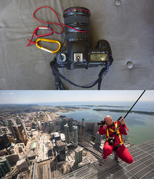 How to Secure a DSLR When Shooting from Great Heights securecamera