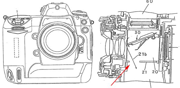 Nikon Pro DSLR Patent Shows New Dust Reduction Feature dustfeature mini