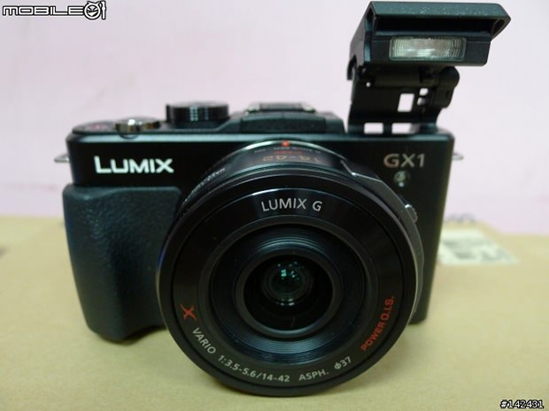 Leaked Photos of the Panasonic Lumix GX1 Micro Four Thirds Camera 