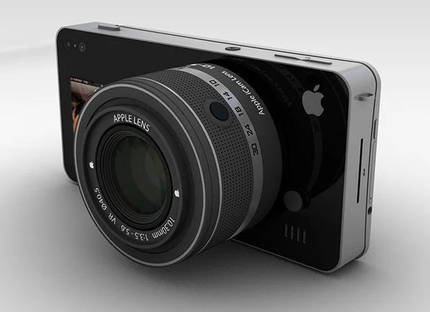 Apple iCam: A Modular Concept Camera That Uses an iPhone for Brains icam1 mini