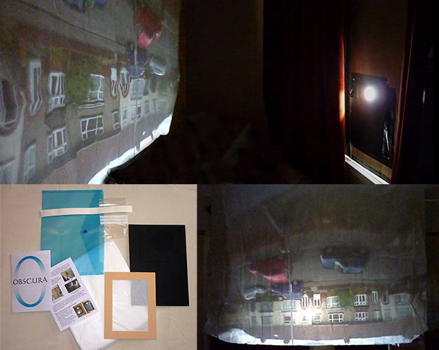 Camera Obscura Kit For Setting Up Your Own Room Sized Camera obscura mini