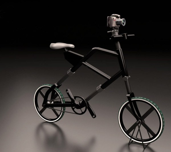 Concept Bicycle Doubles as a Tripod tripodbike1