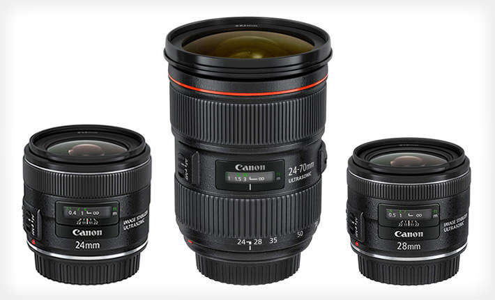 Canon Unveils the 24 70mm f/2.8 II, 24mm f/2.8 IS, and 28mm f/2.8 IS canontrio mini