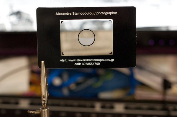 Business Cards that Mimic the Look of an Old Zenit Viewfinder card5 mini