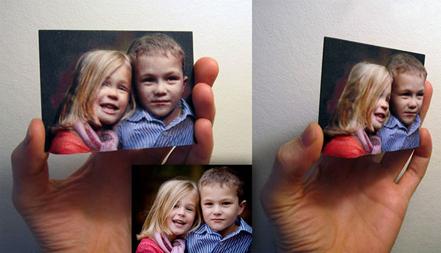 BumpyPhoto Turns 2D Photographs into 3D Color Sculptures 3dphoto mini