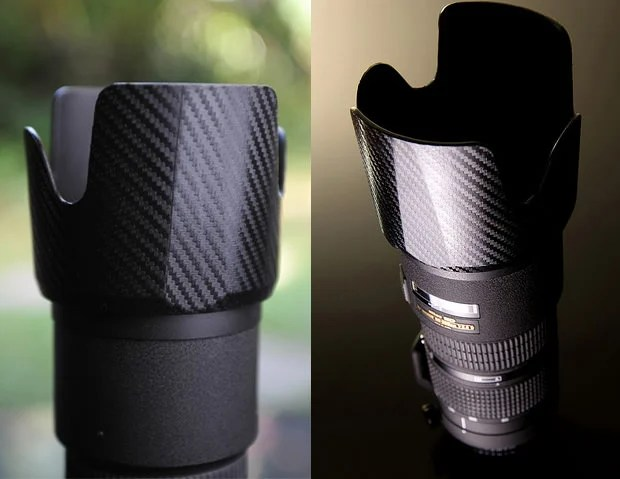 Protect and Dress Up Your Camera Gear with Carbon Fiber Vinyl Decals carbonfiber mini