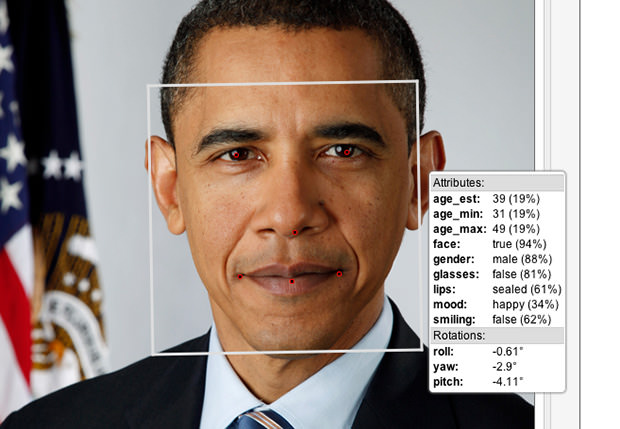 Facial Recognition Software Guesses Age Based on a Photo facialrecognition mini