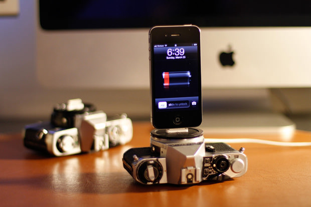 Vintage Cameras Upcycled Into iPhone Charging Docks il fullxfull 3 mini