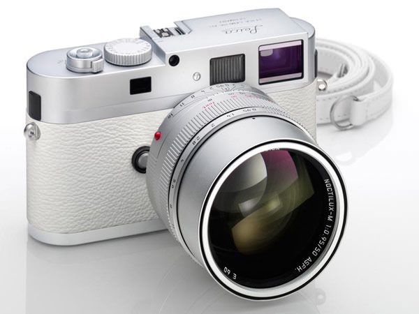 Upgrade Your Leica M9 P to White for Just $23,705 More leicam9white mini