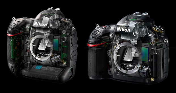 Nikon D4 and D800 Designed by Italian Car Designer Giorgetto Giugiaro d4d800 mini
