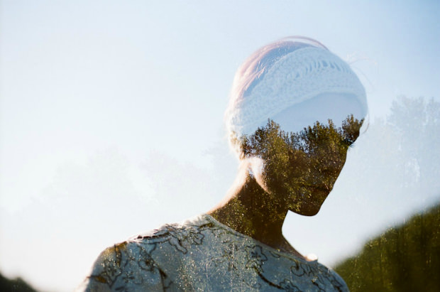 Double Exposures of Nature Blooming Through Portraits of Young Women jonduenas 1 mini