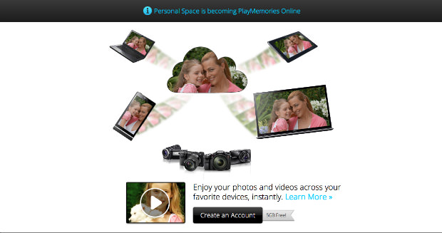 Sony Jumps Into the Photo Sharing Game with PlayMemories Online playmemoriesonline mini