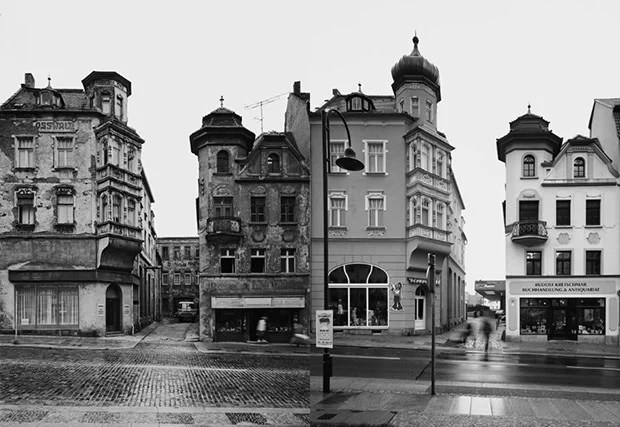 Photographs of East Germany Locations Captured Decades Apart ba1 mini