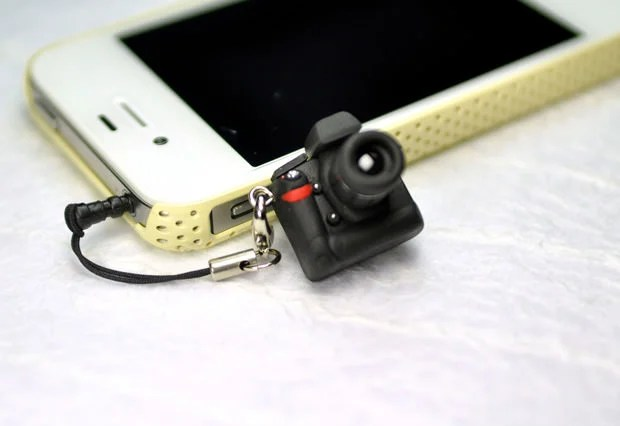 Miniature DSLR Earphone Jack Plugs cam4 mini