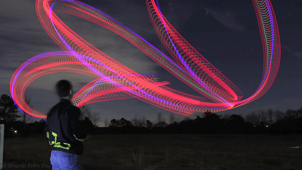 Light Painting Photos Shot Using an RC Helicopter heli4 mini