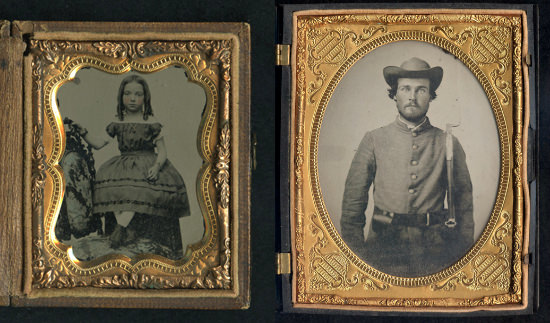 Museum Asks for Help Identifying The Subjects In 150 Year Old Tintype Photos civilwar mini