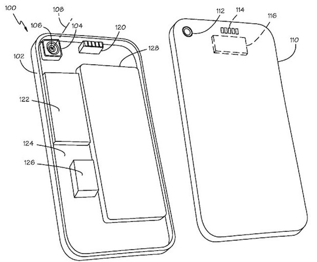 Apple May Add Interchangeable Lenses to Future iPhones iphonepatent mini