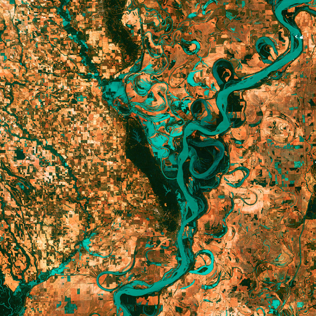 The 5 Most Artistic Satellite Photographs of Earth Captured by NASA googleearthasart3