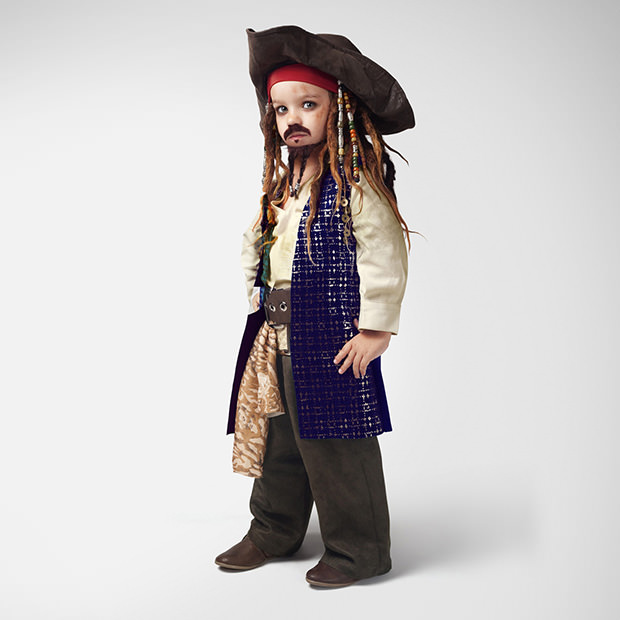 Cute Portraits of Children as Famous Movie Characters kidsasmovie1 mini