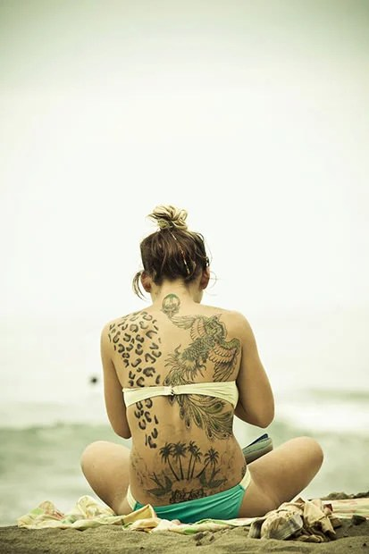 The Power of Social Media Helps Photog Identify Tattooed Girl for Model Release tattooed mini