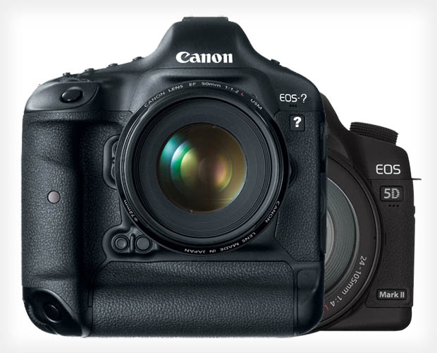 Canon High MP DSLR May Have a 1D X esque Body, 5D Mark II On Way Out? canon