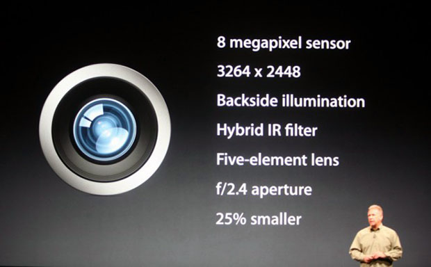 iPhone 5 Camera Stays at 8MP and f/2.4, but Gets a Little Leaner iphone5