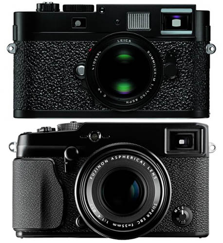 The Pursuit of Classic Designs in the Camera Industry leicafujifilm