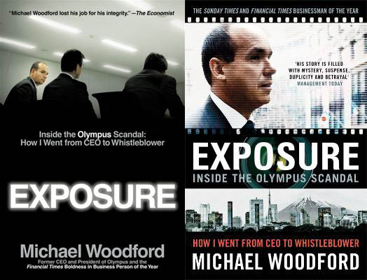 Olympus ex CEO Turned Whistleblower Writes a Book About the Scandal exposure