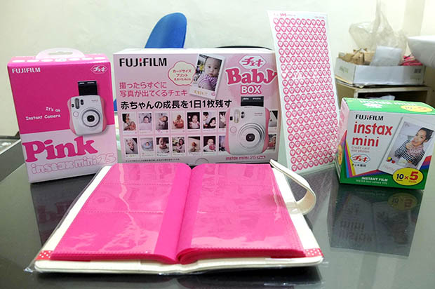 Fujifilm Baby Box: Capture the First 365 Days of a Babys Life with Instant Photos babybox1